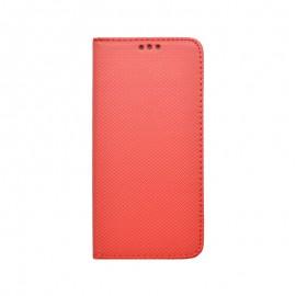 Knižkový obal Samsung Galaxy S20e červený vzorovaný