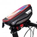 Wildman veľkosť S E1 R, Držiak / Puzdro na bicykel, červeno - čierny