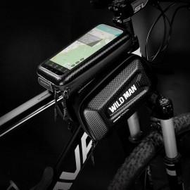 Wildman veľkosť XL E6S, Držiak / Puzdro na bicykel, čierny
