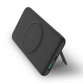 UNIQ powerbank Fast Wireless charge, tmavá sivá