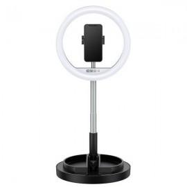 USAMS selfie Ring Light, US-ZB120, čierna