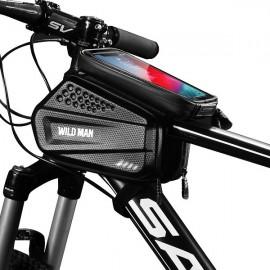 Wildman veľkosť XXL ES6, Držiak / Puzdro na bicykel, čierny