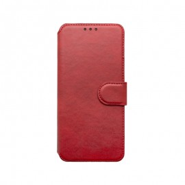 mobilNET knižkové puzdro 2020 červená,  Motorola E7 Power