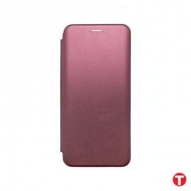 Samsung Galaxy A51 bordová bočná knižka, D-LUX