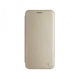 mobilNET knižkové puzdro Xiaomi Note 10 5G, zlatá, Lichi