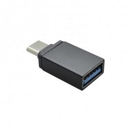 OTG adaptér USB / USB-C čierny