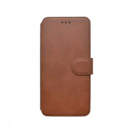 mobilNET knižkové puzdro Xiaomi Redmi Note 10S hnedá 2020