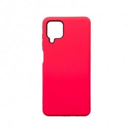 mobilNET silikónové puzdro Samsung Galaxy A12, tmavá ružová Mark