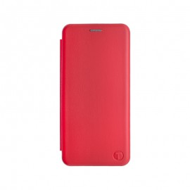 mobilNET knižkové puzdro iPhone 13 Mini, červená, Lichi