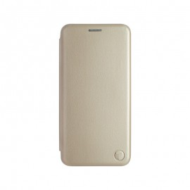 mobilNET knižkové puzdro iPhone 13 Mini, zlatá, Lichi