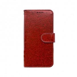 mobilNET knižkové puzdro iPhone 13 Mini, červená, Spark