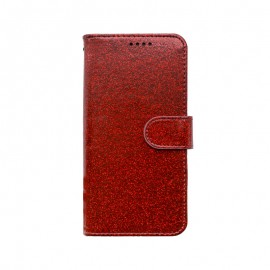 mobilNET knižkové puzdro iPhone 13 Pro, červená, Spark