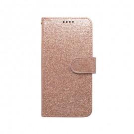 mobilNET knižkové puzdro iPhone 13 Mini, ružová, Spark