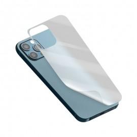 mobilNET ochranná fólia na zadnú časť telefónu iPhone 12 Pro Max, Aurora transparentná lesklá