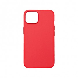 mobilNET silikónové puzdro iPhone 13 Mini, červené Pudding