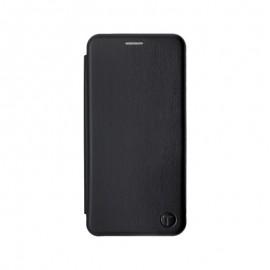 mobilNET knižkové puzdro Samsung Galaxy A22 4G, čierna, Lichi