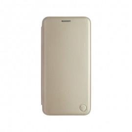 mobilNET knižkové puzdro Samsung Galaxy A22 4G, zlatá, Lichi