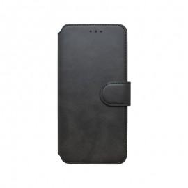 mobilNET knižkové puzdro Motorola G5 5G Plus, čierna, 2020
