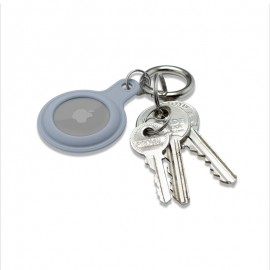 mobilNET gumená kľúčenka, AirTag, sivomodrá