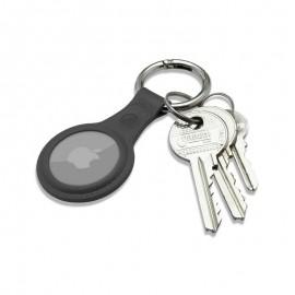 mobilNET gumená kľúčenka, AirTag, čierna