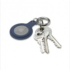 mobilNET gumená kľúčenka, AirTag, modrá