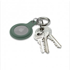 mobilNET gumená kľúčenka, AirTag, zelená