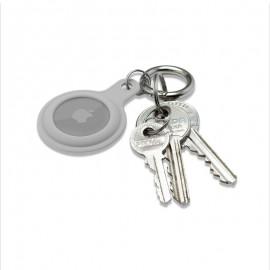 mobilNET gumená kľúčenka, AirTag, sivá
