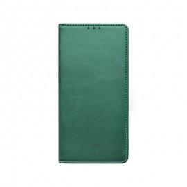 mobilNET knižkové puzdro Xiaomi Redmi Note 10 5G, tmavá zelená Smart