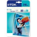 TDK A5 matný 20ks, 210g*
