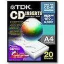 TDK A4 CD lesklý 20ks, 162g*