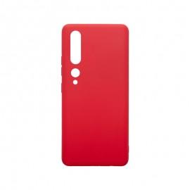 mobilNET silikónové puzdro Xiaomi Redmi 10, červené