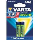 Varta LongLife Accu AAA 2x R2U 800mAh