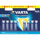 Varta HighEnergy AAA 8x