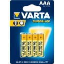 Varta SuperLife AAA 4x