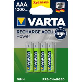 Varta Accu AAA 3+1x R2U 1000 mAh