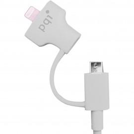 PQI i-Cable Du-Plug 90 White