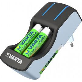 Varta Pocket Charger + 4xAA 2100mAh a 2xAAA 800mAh R2U 57642-431