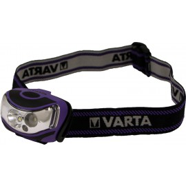 Varta 2x 1 Watt LED Outdoor Sports Head Light 3AAA 18630