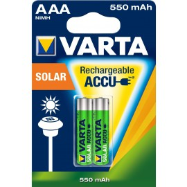 Varta Rechargeable Accu Solar AAA 550 mAh 2x