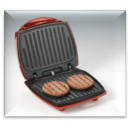 Ariete Výrobník hamburgerov, 185