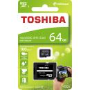 Toshiba micro SDXC 64GB UHS-I M203 + adaptér