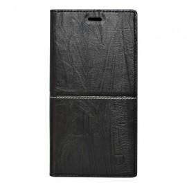 Knižkové puzdro Safe Case Samsung Galaxy A8 2018 čierne