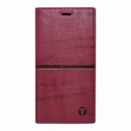 Knižkové puzdro Safe Case Huawei P20 Lite bordové