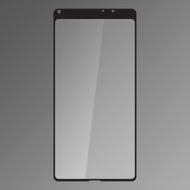 Ochranné sklo Q sklo Xiaomi Mi Mix 2 čierne, fullcover, 0.33mm