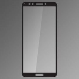 Ochranné sklo Q sklo Huawei Y7 Prime 2018 čierne fullcover 0.33mm