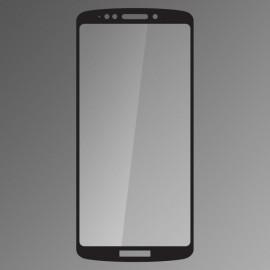 Ochranné sklo Qsklo Moto E5 Plus čierne, fullcover