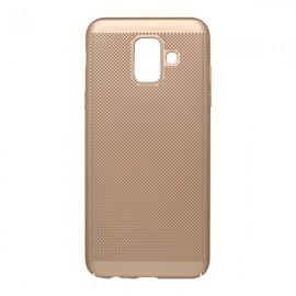Plastové puzdro Sito Samsung Galaxy A6 zlaté