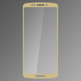 Ochranné sklo Qsklo Moto E5 Plus zlaté, fullcover