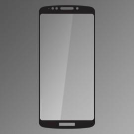 Ochranné sklo Qsklo Moto E5 čierne, fullcover