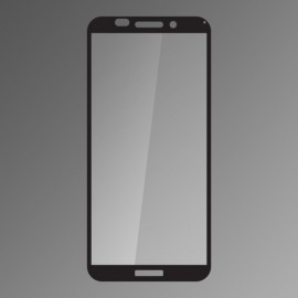 Ochranné sklo Q sklo Huawei Y5 2018 čierne, fullcover